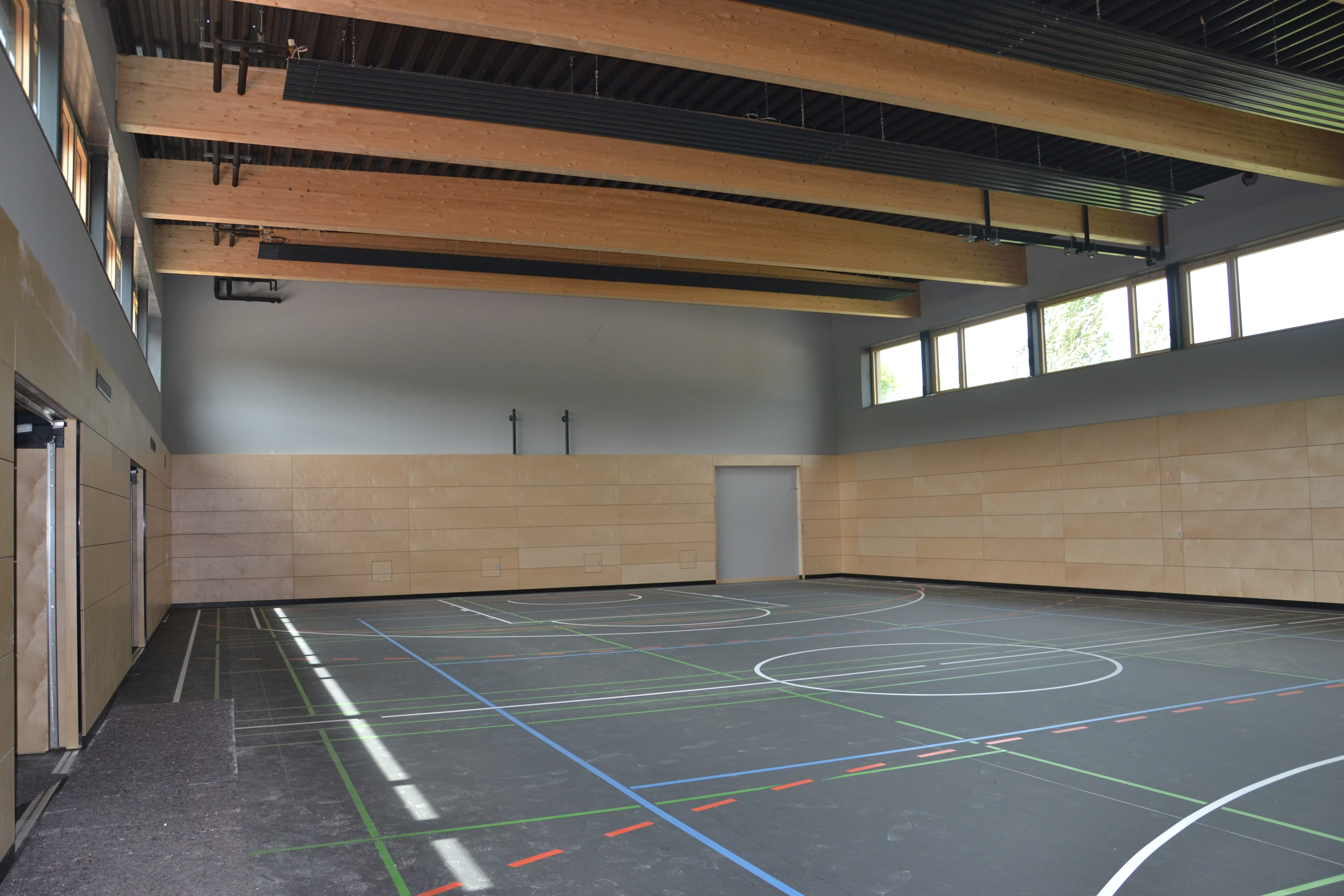 The new SIS Regensburg gymnasium