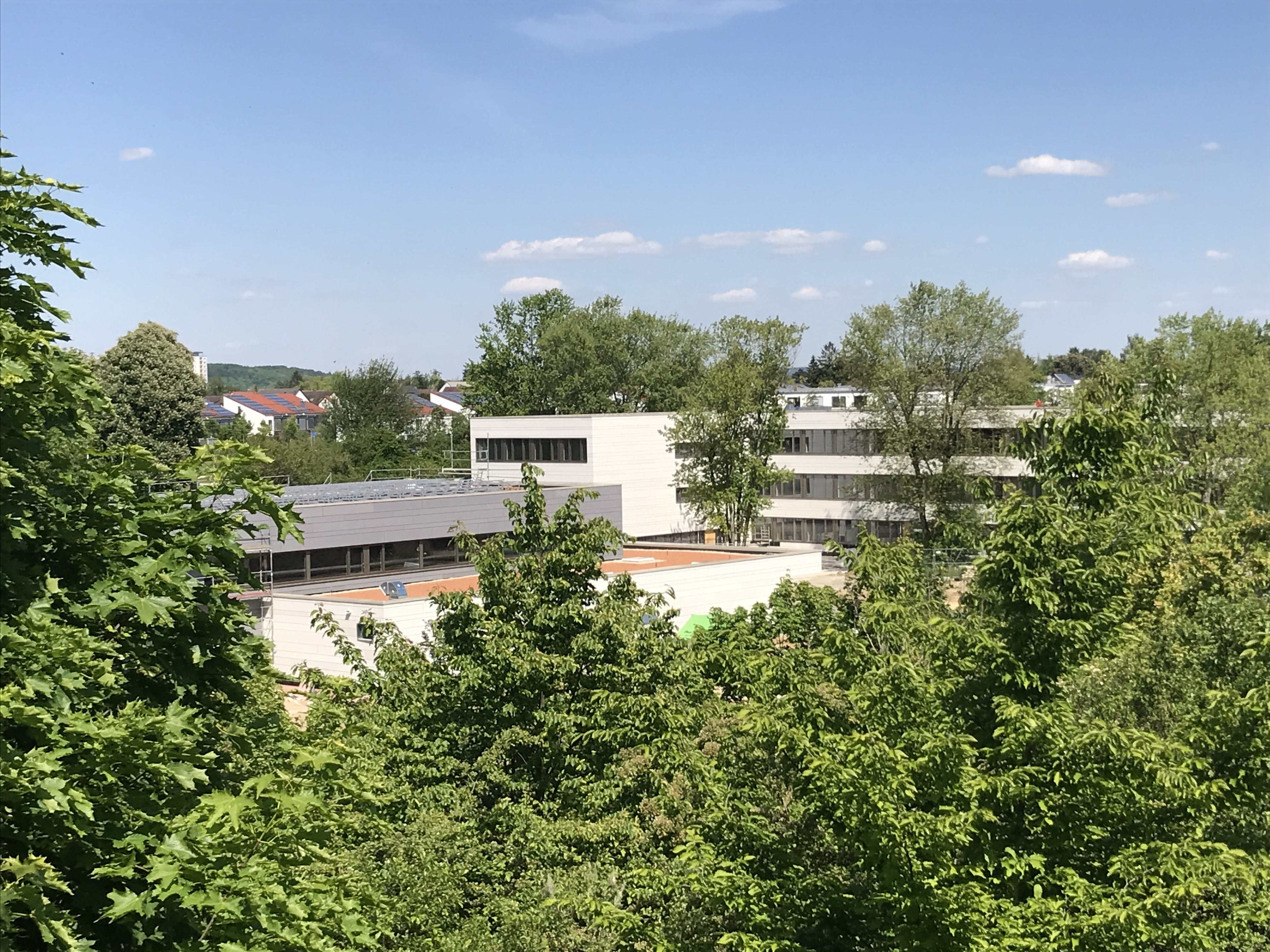 The new SIS Regensburg school building