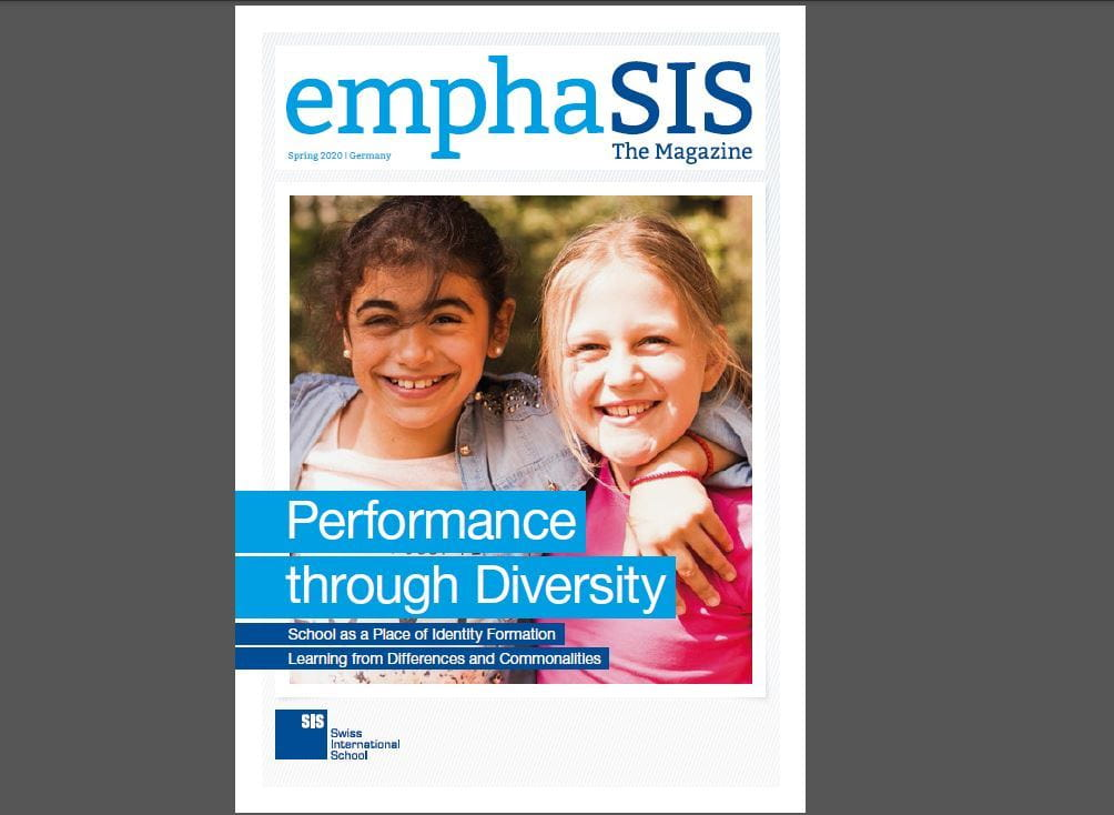 Titelbild emphaSIS 2020 SIS Swiss International School